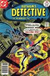 Detective Comics #470 comic books - cover scans photos Detective Comics #470 comic books - covers, picture gallery