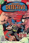 Detective Comics #471 comic books - cover scans photos Detective Comics #471 comic books - covers, picture gallery