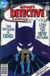 Detective Comics #472 comic books - cover scans photos Detective Comics #472 comic books - covers, picture gallery