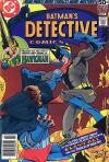 Detective Comics #479 comic books - cover scans photos Detective Comics #479 comic books - covers, picture gallery