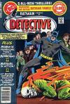 Detective Comics #486 comic books - cover scans photos Detective Comics #486 comic books - covers, picture gallery