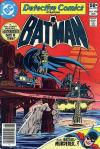 Detective Comics #498 comic books - cover scans photos Detective Comics #498 comic books - covers, picture gallery