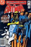 Detective Comics #528 comic books - cover scans photos Detective Comics #528 comic books - covers, picture gallery