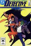 Detective Comics #581 comic books - cover scans photos Detective Comics #581 comic books - covers, picture gallery