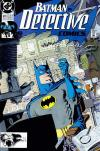 Detective Comics #619 comic books - cover scans photos Detective Comics #619 comic books - covers, picture gallery