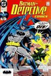 Detective Comics #622 comic books - cover scans photos Detective Comics #622 comic books - covers, picture gallery