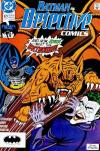 Detective Comics #623 comic books - cover scans photos Detective Comics #623 comic books - covers, picture gallery