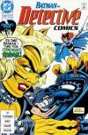 Detective Comics #624 comic books - cover scans photos Detective Comics #624 comic books - covers, picture gallery