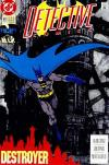 Detective Comics #641 comic books - cover scans photos Detective Comics #641 comic books - covers, picture gallery