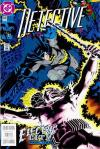 Detective Comics #645 comic books - cover scans photos Detective Comics #645 comic books - covers, picture gallery