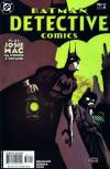 Detective Comics #784 comic books - cover scans photos Detective Comics #784 comic books - covers, picture gallery