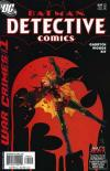 Detective Comics #809 comic books - cover scans photos Detective Comics #809 comic books - covers, picture gallery