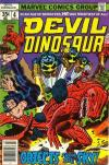 Devil Dinosaur #4 comic books for sale