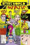 Ditko's World Featuring Static #2 comic books - cover scans photos Ditko's World Featuring Static #2 comic books - covers, picture gallery