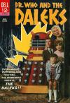 Dr. Who and the Daleks comic books