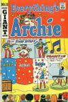 Everything's Archie #13 comic books - cover scans photos Everything's Archie #13 comic books - covers, picture gallery