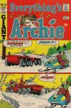 Everything's Archie #25 comic books - cover scans photos Everything's Archie #25 comic books - covers, picture gallery