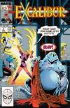 Excalibur #2 comic books - cover scans photos Excalibur #2 comic books - covers, picture gallery