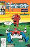 Excalibur #3 comic books - cover scans photos Excalibur #3 comic books - covers, picture gallery