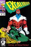 Excalibur #64 comic books - cover scans photos Excalibur #64 comic books - covers, picture gallery