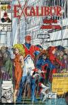 Excalibur #8 comic books - cover scans photos Excalibur #8 comic books - covers, picture gallery