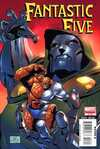 Fantastic Five #3 comic books - cover scans photos Fantastic Five #3 comic books - covers, picture gallery
