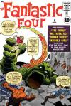 Fantastic Four comic books