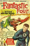 Fantastic Four #10 Comic Books - Covers, Scans, Photos  in Fantastic Four Comic Books - Covers, Scans, Gallery