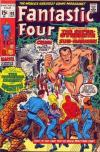 Fantastic Four #102 comic books - cover scans photos Fantastic Four #102 comic books - covers, picture gallery
