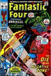 Fantastic Four #109 comic books - cover scans photos Fantastic Four #109 comic books - covers, picture gallery