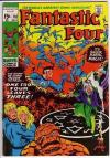 Fantastic Four #110 Comic Books - Covers, Scans, Photos  in Fantastic Four Comic Books - Covers, Scans, Gallery