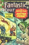 Fantastic Four #23 comic books - cover scans photos Fantastic Four #23 comic books - covers, picture gallery