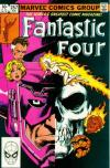 Fantastic Four #257 comic books - cover scans photos Fantastic Four #257 comic books - covers, picture gallery