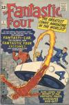Fantastic Four #3 comic books - cover scans photos Fantastic Four #3 comic books - covers, picture gallery