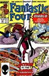 Fantastic Four #306 Comic Books - Covers, Scans, Photos  in Fantastic Four Comic Books - Covers, Scans, Gallery