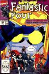 Fantastic Four #340 comic books - cover scans photos Fantastic Four #340 comic books - covers, picture gallery