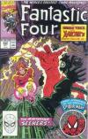 Fantastic Four #342 comic books - cover scans photos Fantastic Four #342 comic books - covers, picture gallery