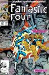 Fantastic Four #347 comic books - cover scans photos Fantastic Four #347 comic books - covers, picture gallery