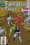 Fantastic Four #394 Comic Books - Covers, Scans, Photos  in Fantastic Four Comic Books - Covers, Scans, Gallery