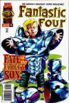 Fantastic Four #414 comic books - cover scans photos Fantastic Four #414 comic books - covers, picture gallery