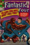 Fantastic Four #42 comic books - cover scans photos Fantastic Four #42 comic books - covers, picture gallery