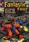 Fantastic Four #43 comic books - cover scans photos Fantastic Four #43 comic books - covers, picture gallery