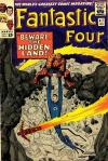 Fantastic Four #47 comic books - cover scans photos Fantastic Four #47 comic books - covers, picture gallery