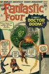 Fantastic Four #5 Comic Books - Covers, Scans, Photos  in Fantastic Four Comic Books - Covers, Scans, Gallery