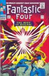Fantastic Four #53 Comic Books - Covers, Scans, Photos  in Fantastic Four Comic Books - Covers, Scans, Gallery