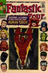 Fantastic Four #54 comic books - cover scans photos Fantastic Four #54 comic books - covers, picture gallery
