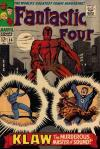 Fantastic Four #56 comic books - cover scans photos Fantastic Four #56 comic books - covers, picture gallery