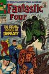 Fantastic Four #58 comic books - cover scans photos Fantastic Four #58 comic books - covers, picture gallery