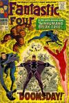 Fantastic Four #59 comic books - cover scans photos Fantastic Four #59 comic books - covers, picture gallery