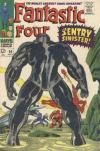 Fantastic Four #64 comic books - cover scans photos Fantastic Four #64 comic books - covers, picture gallery